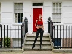 red door front view + bun